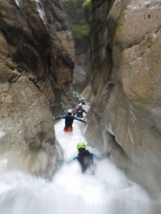 Lehrlingsausflug Canyoning